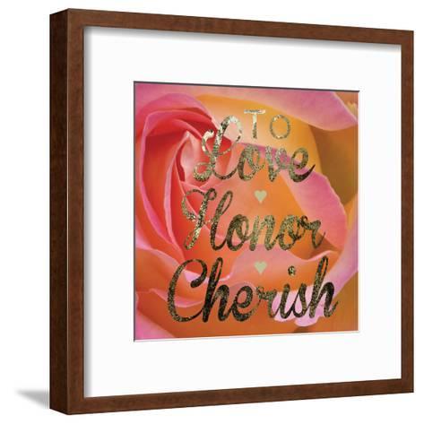 Cherished Love-Melody Hogan-Framed Art Print