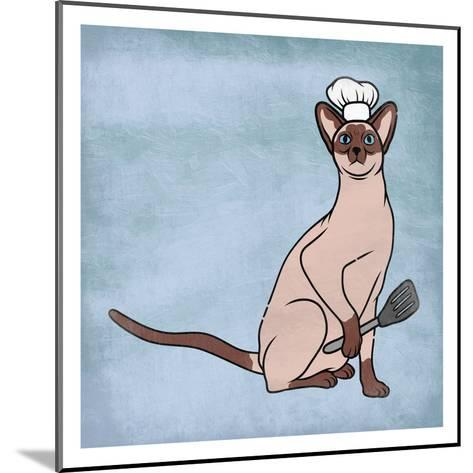 Siamese Cook-Marcus Prime-Mounted Art Print