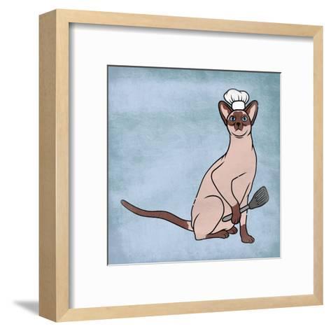 Siamese Cook-Marcus Prime-Framed Art Print