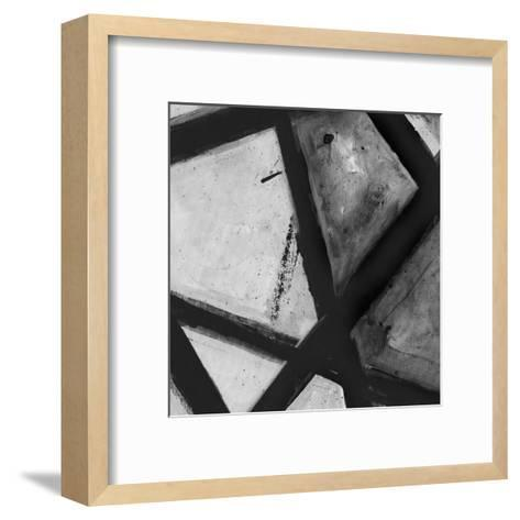 Through The Webbing BW 1-Smith Haynes-Framed Art Print
