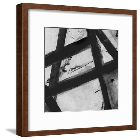 Through The Webbing BW 2-Smith Haynes-Framed Art Print
