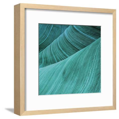 Coastal Abstract 2-Sheldon Lewis-Framed Art Print