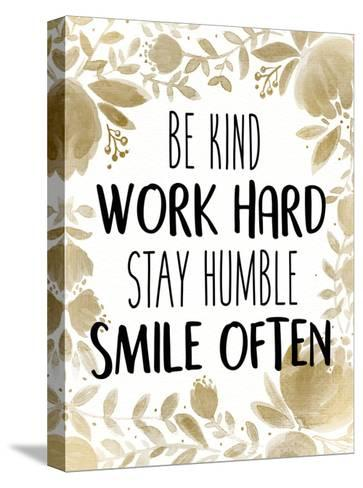 Stay Humble 1-Kimberly Allen-Stretched Canvas Print