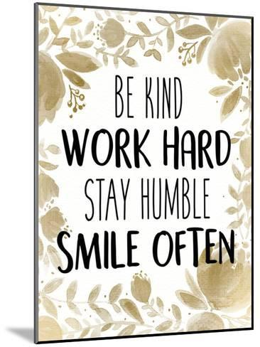 Stay Humble 1-Kimberly Allen-Mounted Art Print