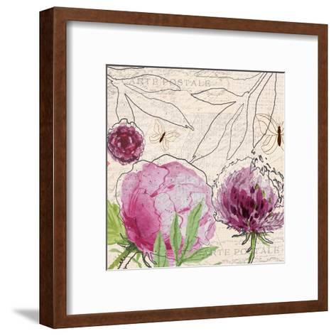 Blooming 1-Kimberly Allen-Framed Art Print