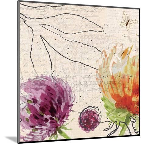 Blooming 2-Kimberly Allen-Mounted Art Print