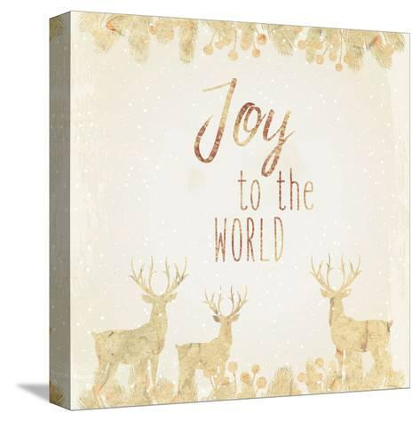 Joy To The World-Kimberly Allen-Stretched Canvas Print