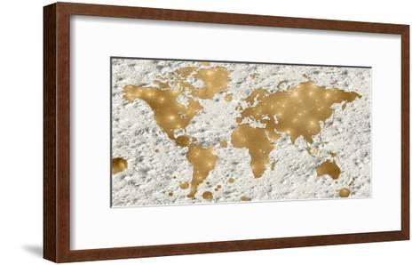 Hello World-Sheldon Lewis-Framed Art Print