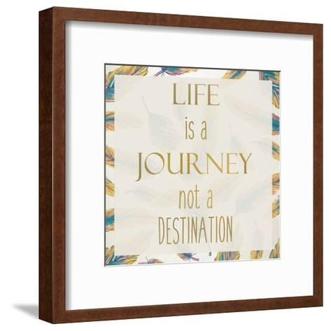 LIfe Rules 1-Kimberly Allen-Framed Art Print