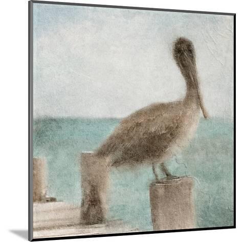 Pier Time-Kimberly Allen-Mounted Art Print
