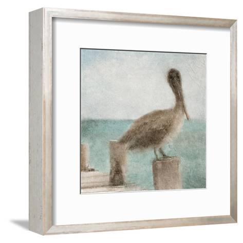 Pier Time-Kimberly Allen-Framed Art Print
