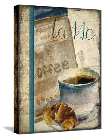 Cafe Latte 2-Kimberly Allen-Stretched Canvas Print