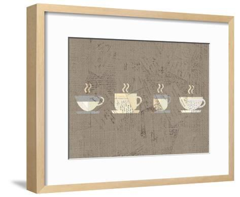 Postcard Coffee 2-Kimberly Allen-Framed Art Print