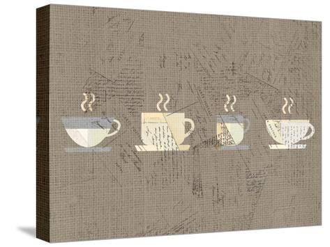 Postcard Coffee 2-Kimberly Allen-Stretched Canvas Print