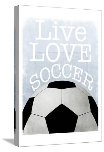 Soccer Love-Marcus Prime-Stretched Canvas Print