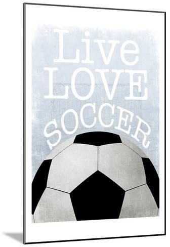 Soccer Love-Marcus Prime-Mounted Art Print