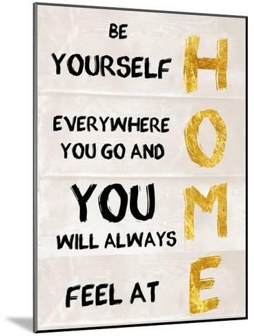 Be Yourself-Sheldon Lewis-Mounted Art Print
