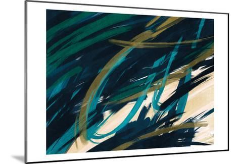 Eternally Slashed 2-Marcus Prime-Mounted Art Print