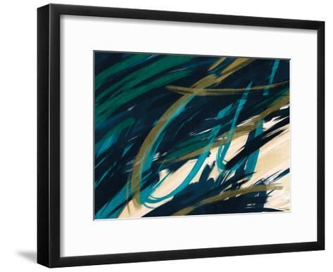 Eternally Slashed 2-Marcus Prime-Framed Art Print