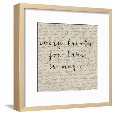 Every Breath You Take-Jelena Matic-Framed Art Print