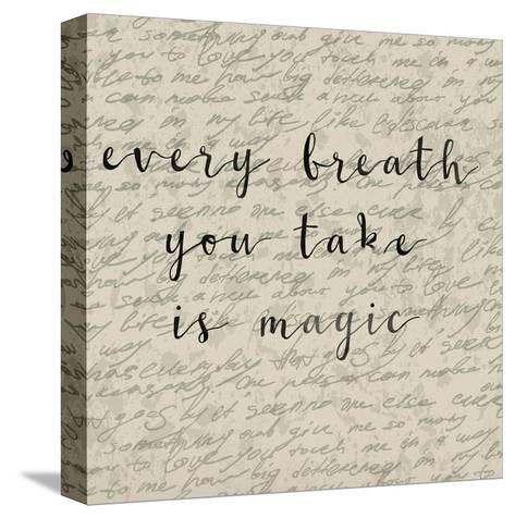 Every Breath You Take-Jelena Matic-Stretched Canvas Print