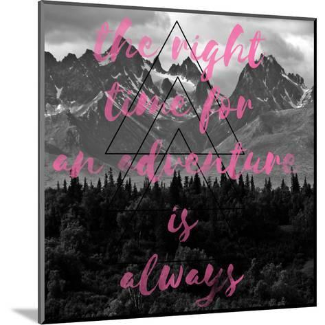 The Right Time-Jelena Matic-Mounted Art Print