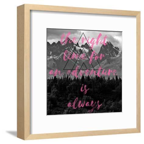 The Right Time-Jelena Matic-Framed Art Print