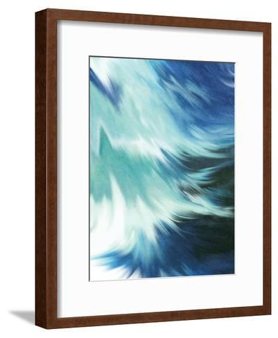 Blue Mood-Kimberly Allen-Framed Art Print