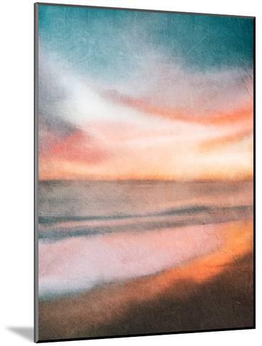 Sunset at the Beach-Kimberly Allen-Mounted Art Print