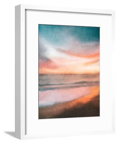 Sunset at the Beach-Kimberly Allen-Framed Art Print