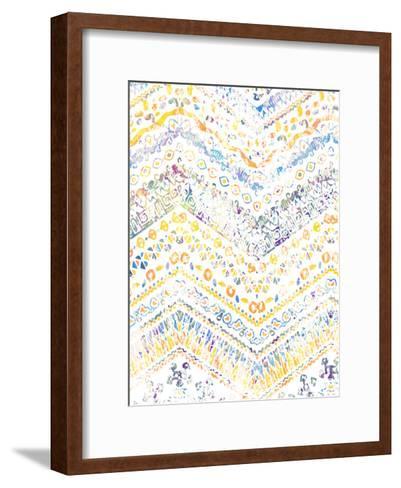 Ethnic Watercolor-Kimberly Allen-Framed Art Print