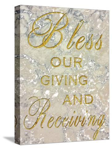 Bless Our Giving-Sheldon Lewis-Stretched Canvas Print