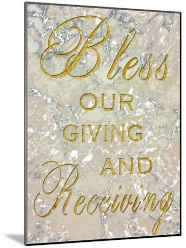 Bless Our Giving-Sheldon Lewis-Mounted Art Print