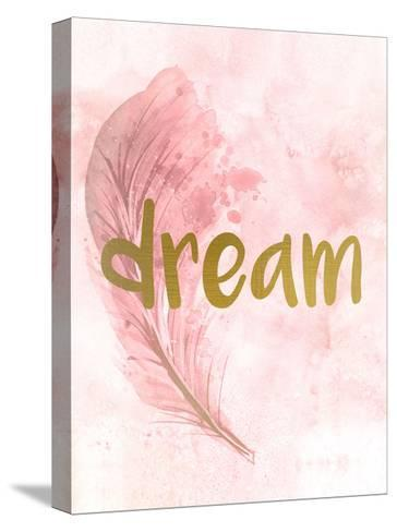 Pink Feathered 4-Kimberly Allen-Stretched Canvas Print