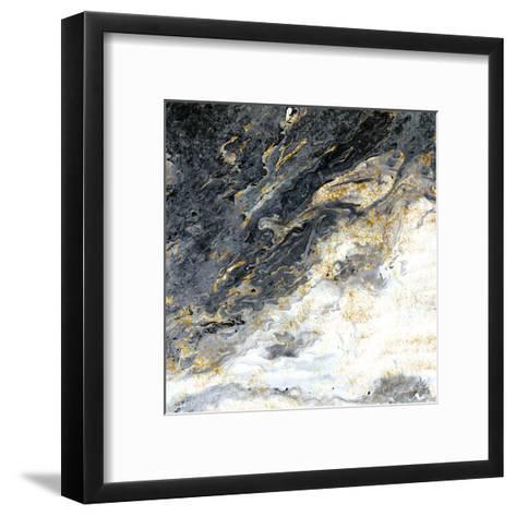 Gold Flecks Mood-Kimberly Allen-Framed Art Print