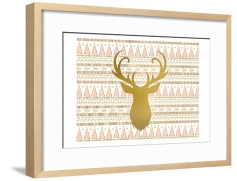 Oh Deer B-Kimberly Allen-Framed Art Print