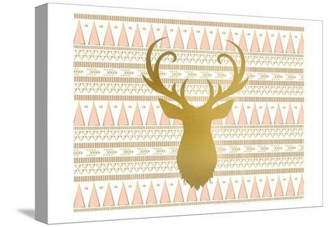 Oh Deer B-Kimberly Allen-Stretched Canvas Print