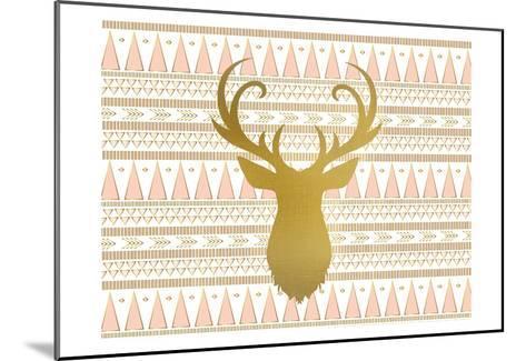 Oh Deer B-Kimberly Allen-Mounted Art Print