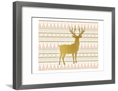 Oh Deer C-Kimberly Allen-Framed Art Print