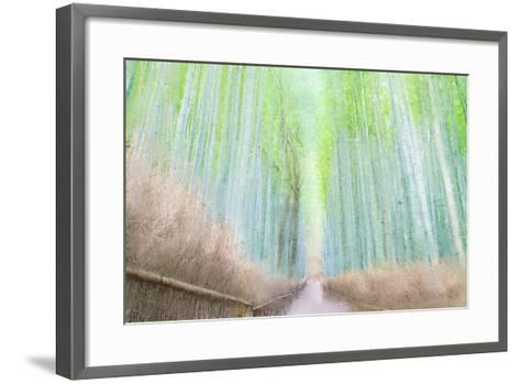 Down the Path-Kimberly Allen-Framed Art Print