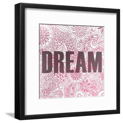 Pink Dream-Kimberly Allen-Framed Art Print