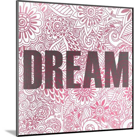 Pink Dream-Kimberly Allen-Mounted Art Print