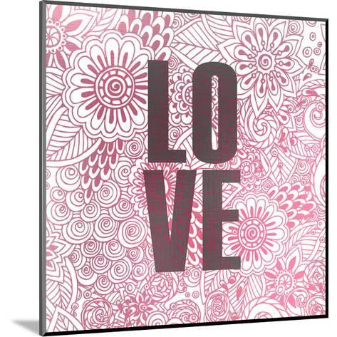 Pink Love-Kimberly Allen-Mounted Art Print