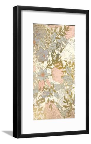 Carte Postale Blooms A-Kimberly Allen-Framed Art Print