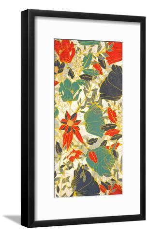 Carte Postale Blooms Henna 1-Kimberly Allen-Framed Art Print