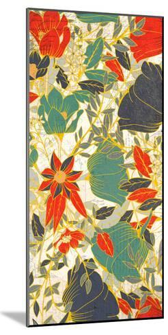 Carte Postale Blooms Henna 1-Kimberly Allen-Mounted Art Print