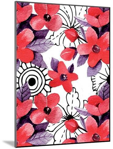 Love Floral-Kimberly Allen-Mounted Art Print