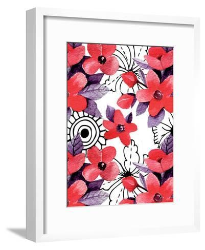 Love Floral-Kimberly Allen-Framed Art Print
