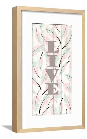 Feathered 2-Kimberly Allen-Framed Art Print