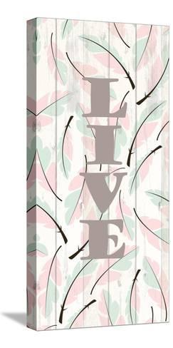 Feathered 2-Kimberly Allen-Stretched Canvas Print